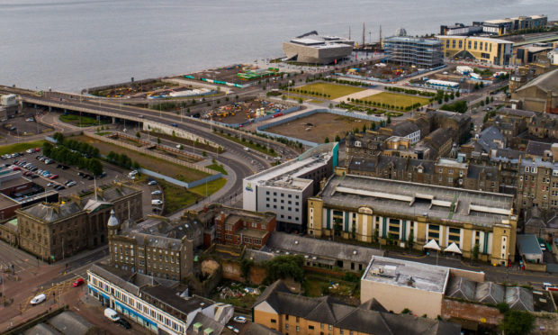 Mikael Colville-Andersen says the car remains king in Dundee's new waterfront.