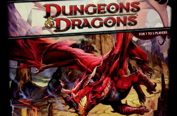 The argument broke out over a game of Dungeons and Dragons.