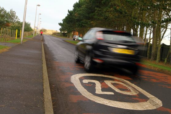 Speed humps will now be put on Traill Drive in Montrose