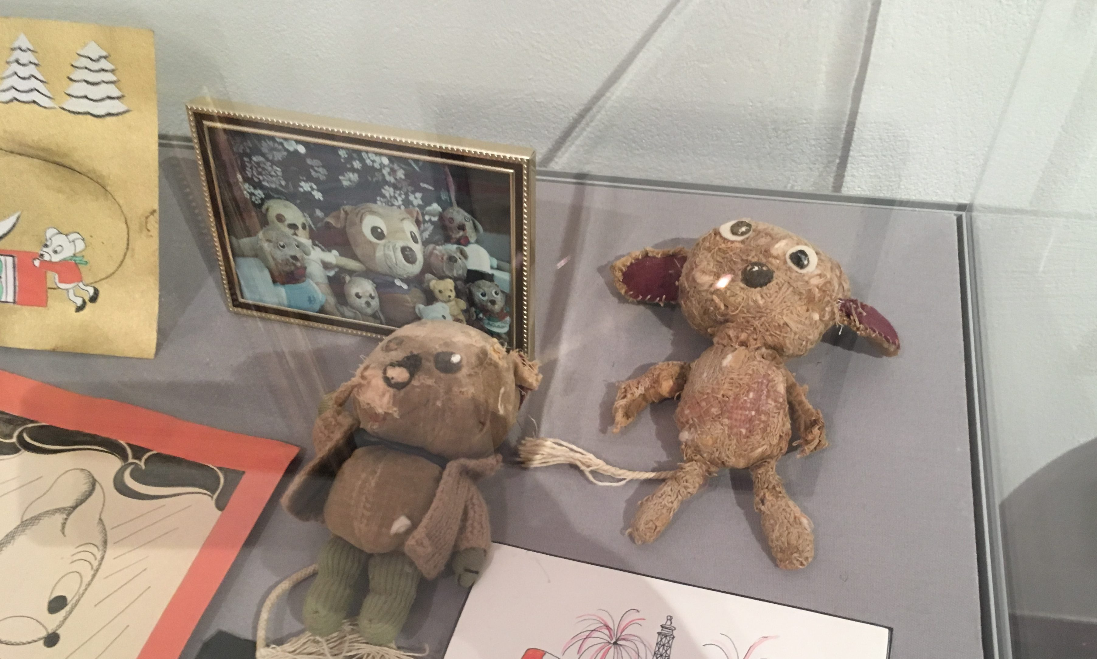Lyell family heirlooms feature in the Forfar display
