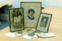 Some of the artefacts which were donated to the Dundee City Archives by Isabel Philp.