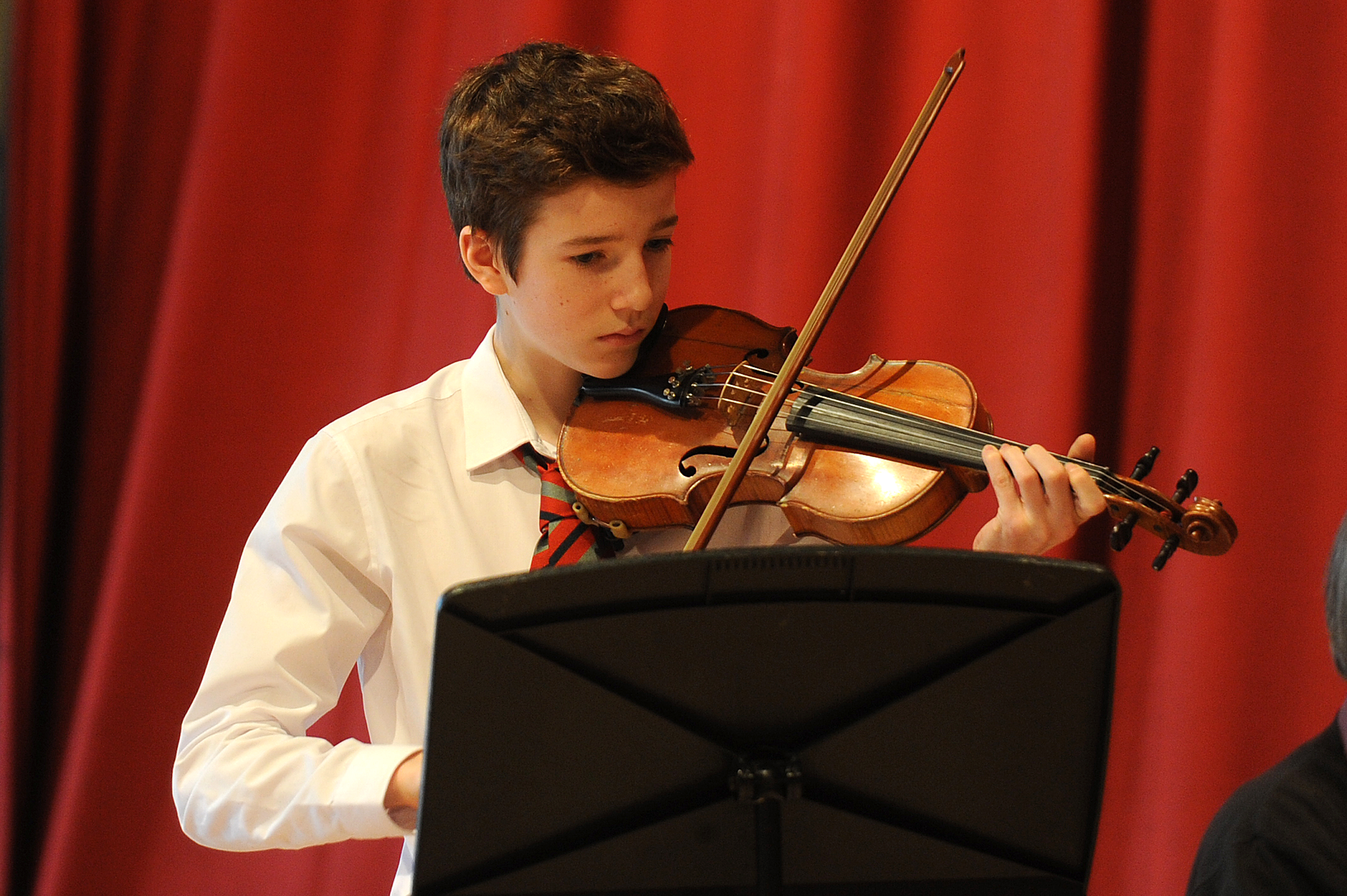 Many youngsters who have appeared at the Fife Festival of Music have gone through the music tuition ranks.