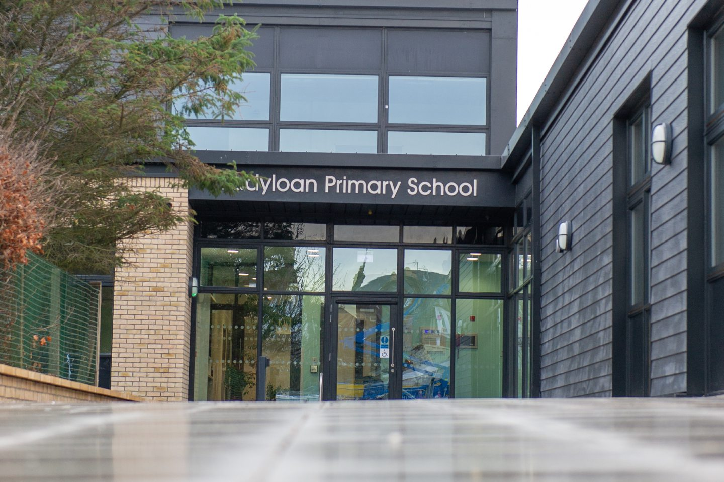 The new Ladyloan primary school in Arbroath,