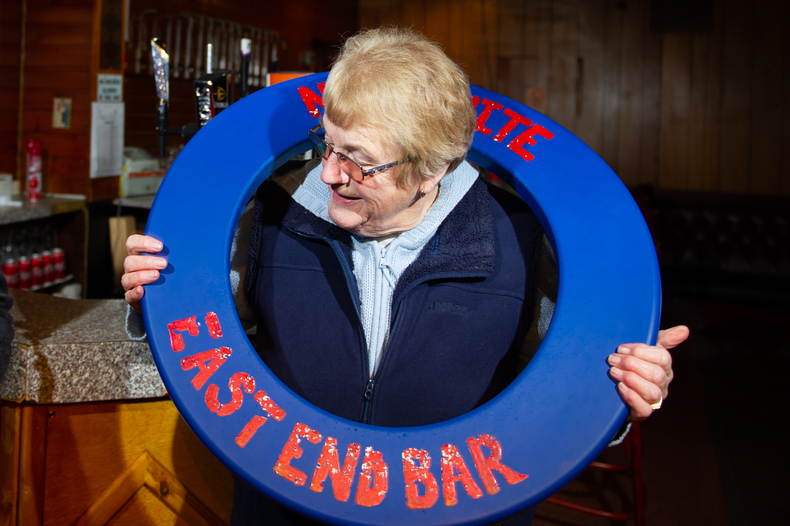 """""""Where did I put my Stetson?"""" - Joan Keith is rolling back the years to take charge again at the popular Brechin watering hole"""