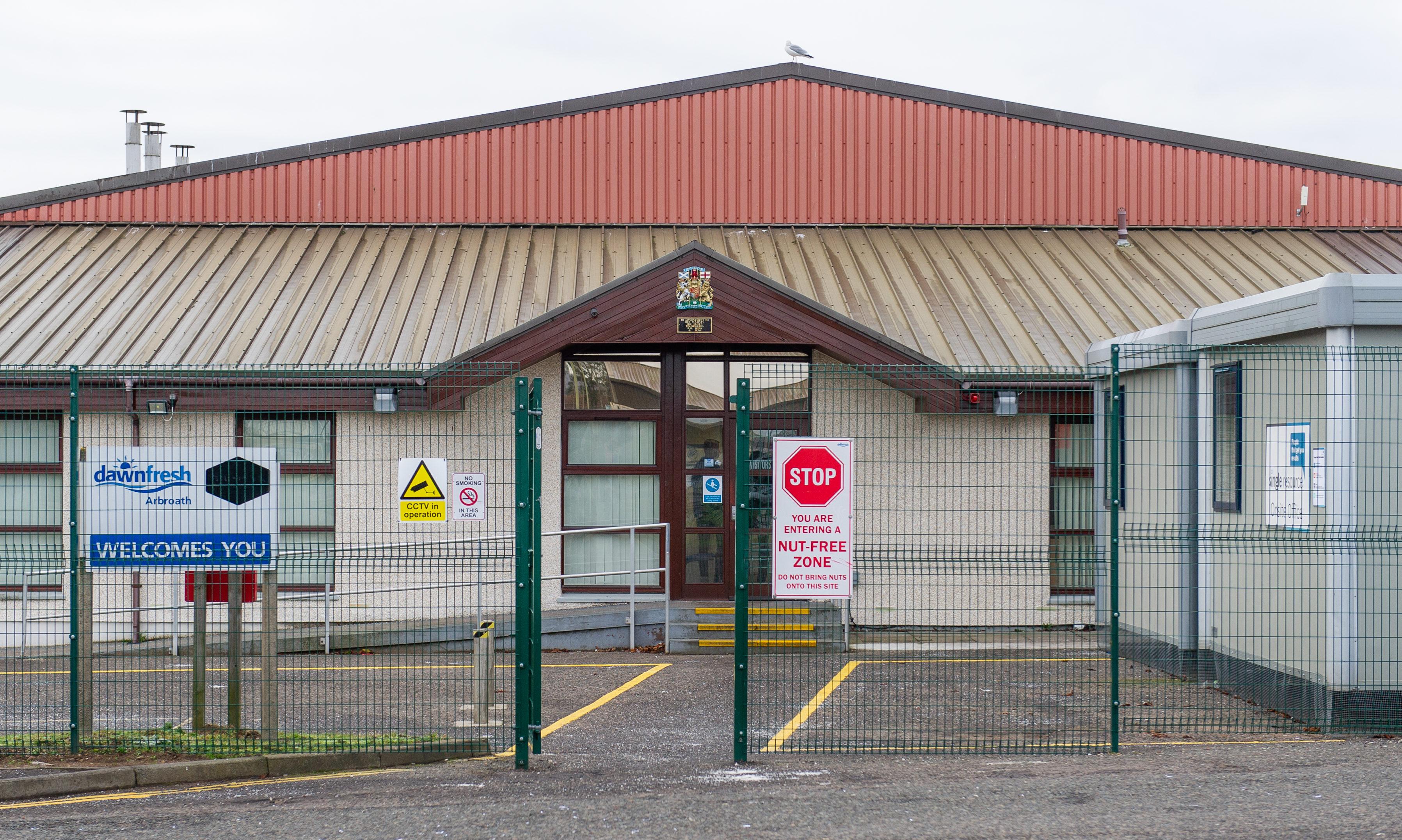The Dawnfresh factory in Arbroath