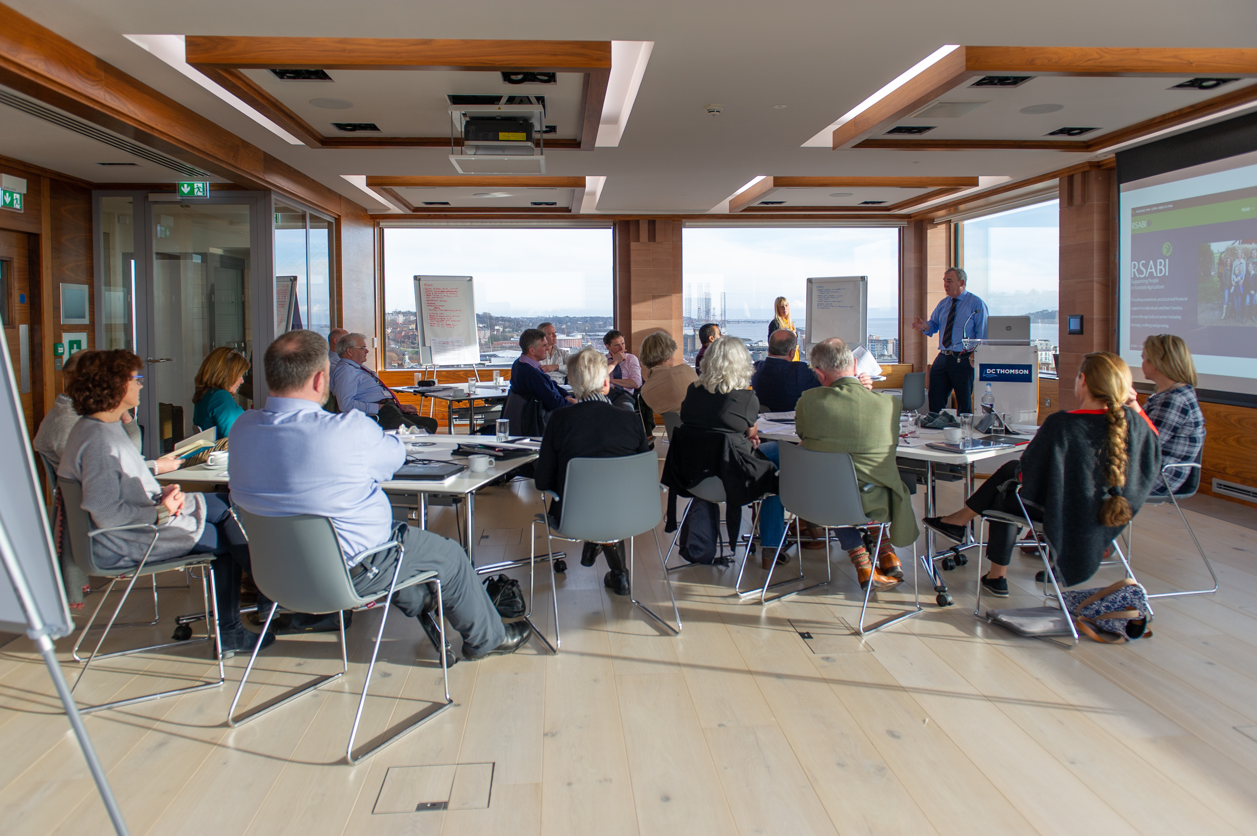 RSABI trustees met in DC Thomson's headquarters in Dundee to discuss a five-year strategy.