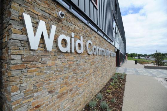 Waid Community Campus which houses Waid Academy