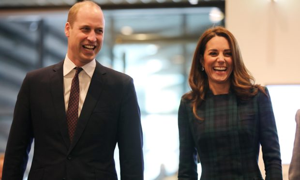 The duke and duchess on a visit to the V&A
