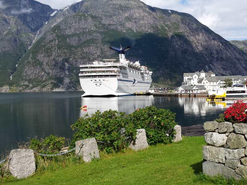Magellan in Eidfjord, Norway.