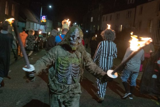 The Newburgh Oddfellows parade last year. (Photo: Kenny Smith)