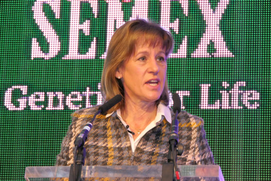 NFU president Minette Batters said the pride and strength of the dairy industry had to be restored in the face of attacks from vegans and animal welfare groups.