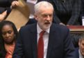 Labour leader Jeremy Corbyn announces he has tabled a vote of no confidence in the government.