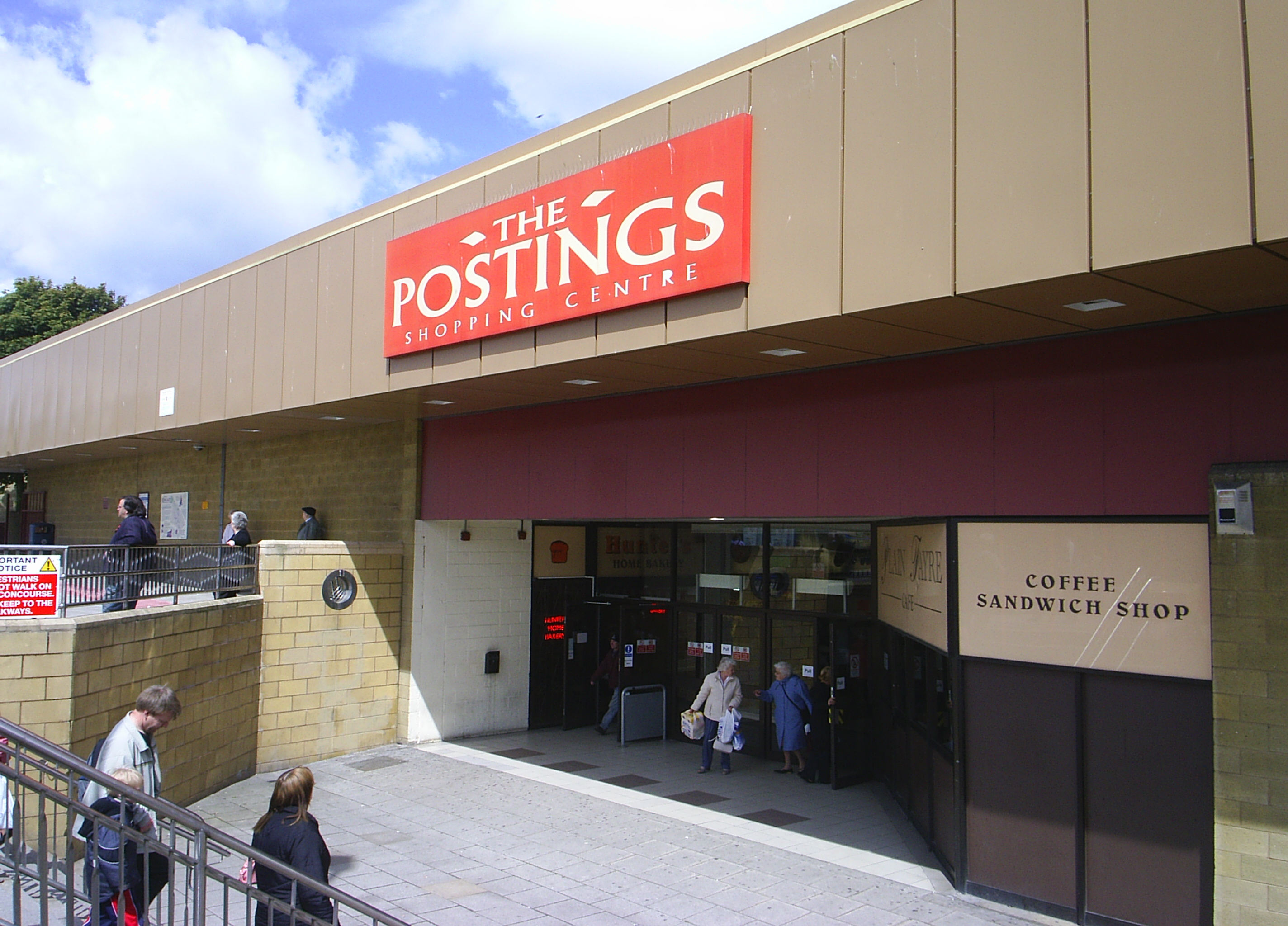 The Postings Shopping Centre in Kirkcaldy.