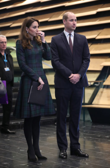 The Duke and Duchess of Cambridge. Jane Barlow/PA Wire