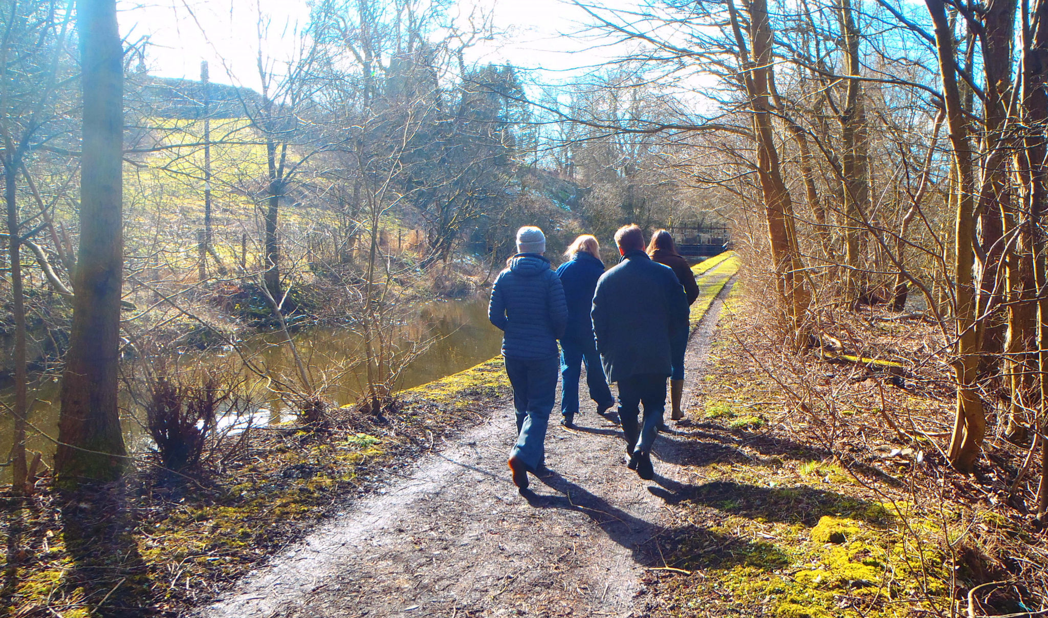 Sepa specialists visited the River Leven last year