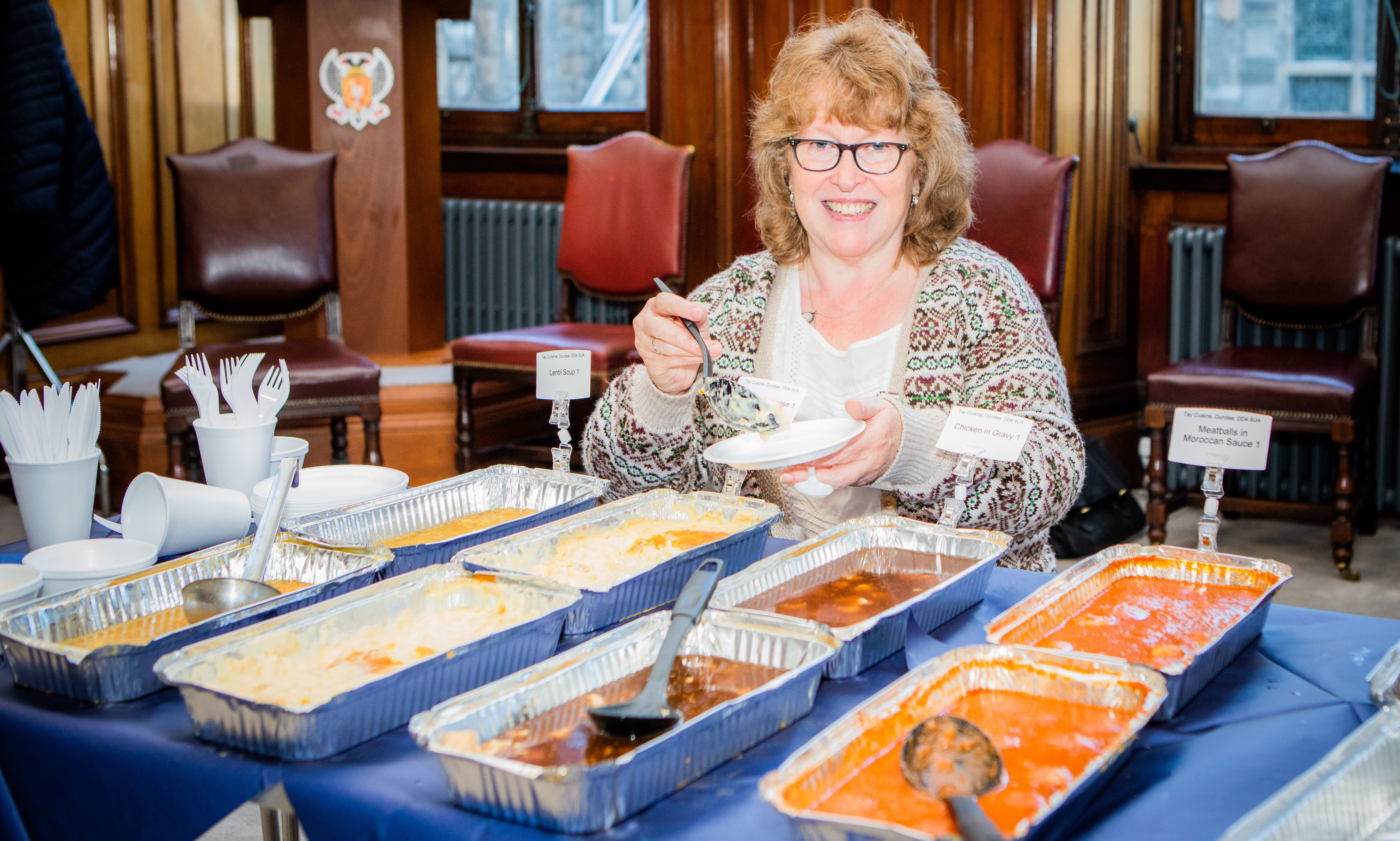 Food expert, Menu blogger and founder of the Scottish Food Guide Wendy Barrie.