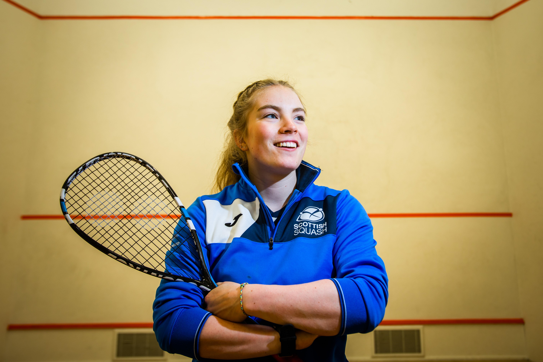 Perth professional squash player Katriona Allen.