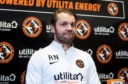 Robbie Neilson faces the media yesterday.