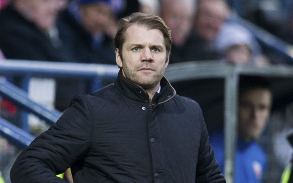 Robbie Neilson: pleased to hold one-goal advantage.