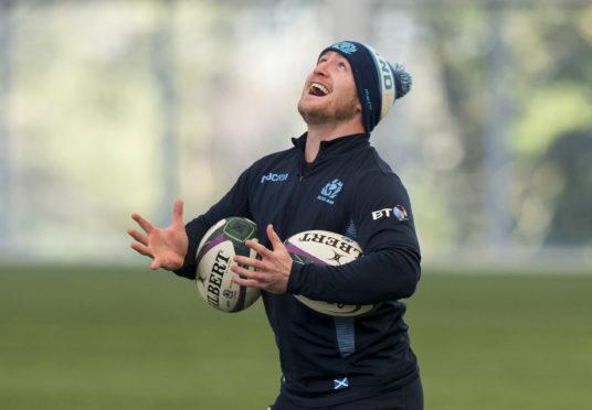 Scotland's Stuart Hogg.