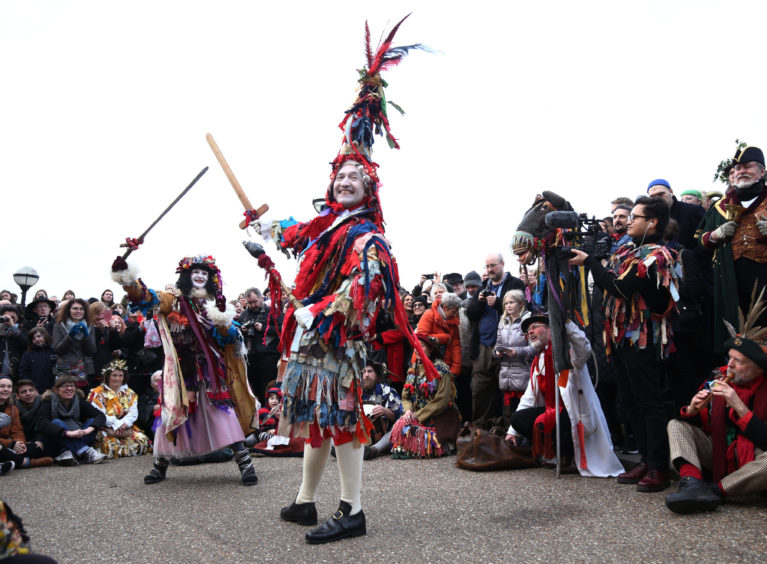 Twelfth Night is celebrated every year in the Bankside area of London with singing, dancing, plays and storytelling
