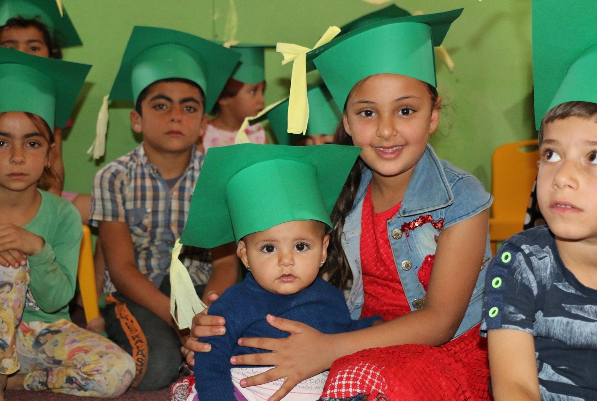 Refugee children at Sam's House, Lebanon