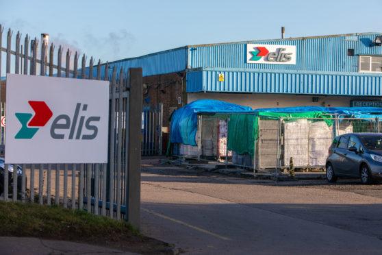 The site in Randolph Industrial Estate, Kirkcaldy.