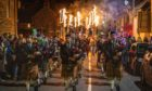There will be no mass celebrations, like the annual Flamebeaux event in Comrie, Perthshire, this year.