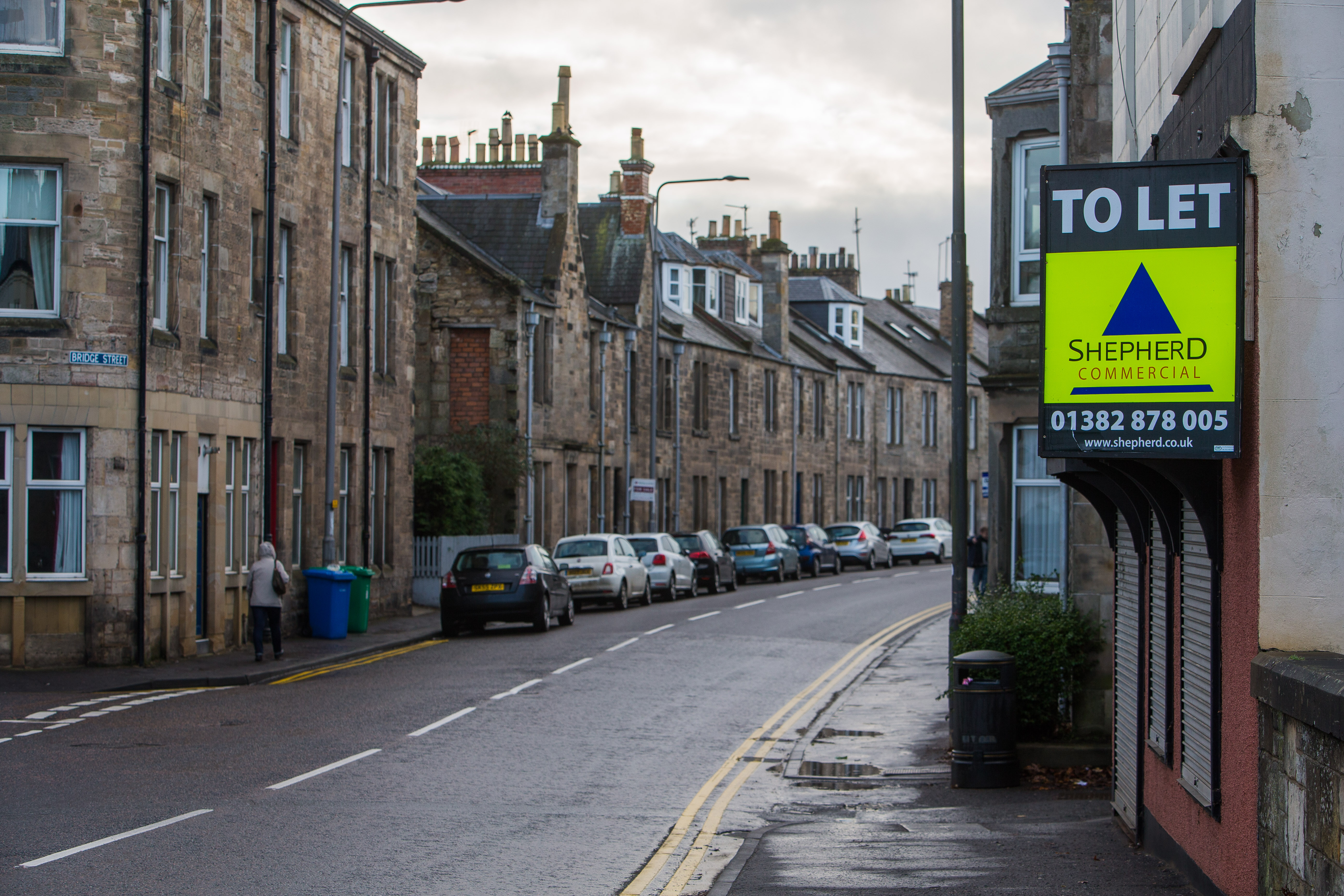 Bridge Street in St Andrews which 54% of which are HMOs.