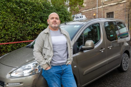 """Taxi driver Jim Harris said the comments could be """"damaging"""" to the taxi trade"""