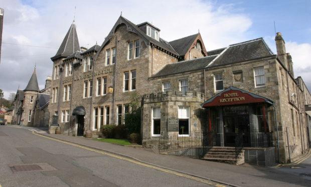 Scotland's Hotel & Leisure Club.