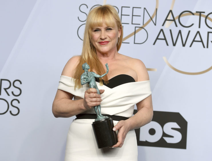 Patricia Arquette, winner of the award for Outstanding Performance by a Female Actor in a TV Movie or a Limited Series for Escape at Dannemora.