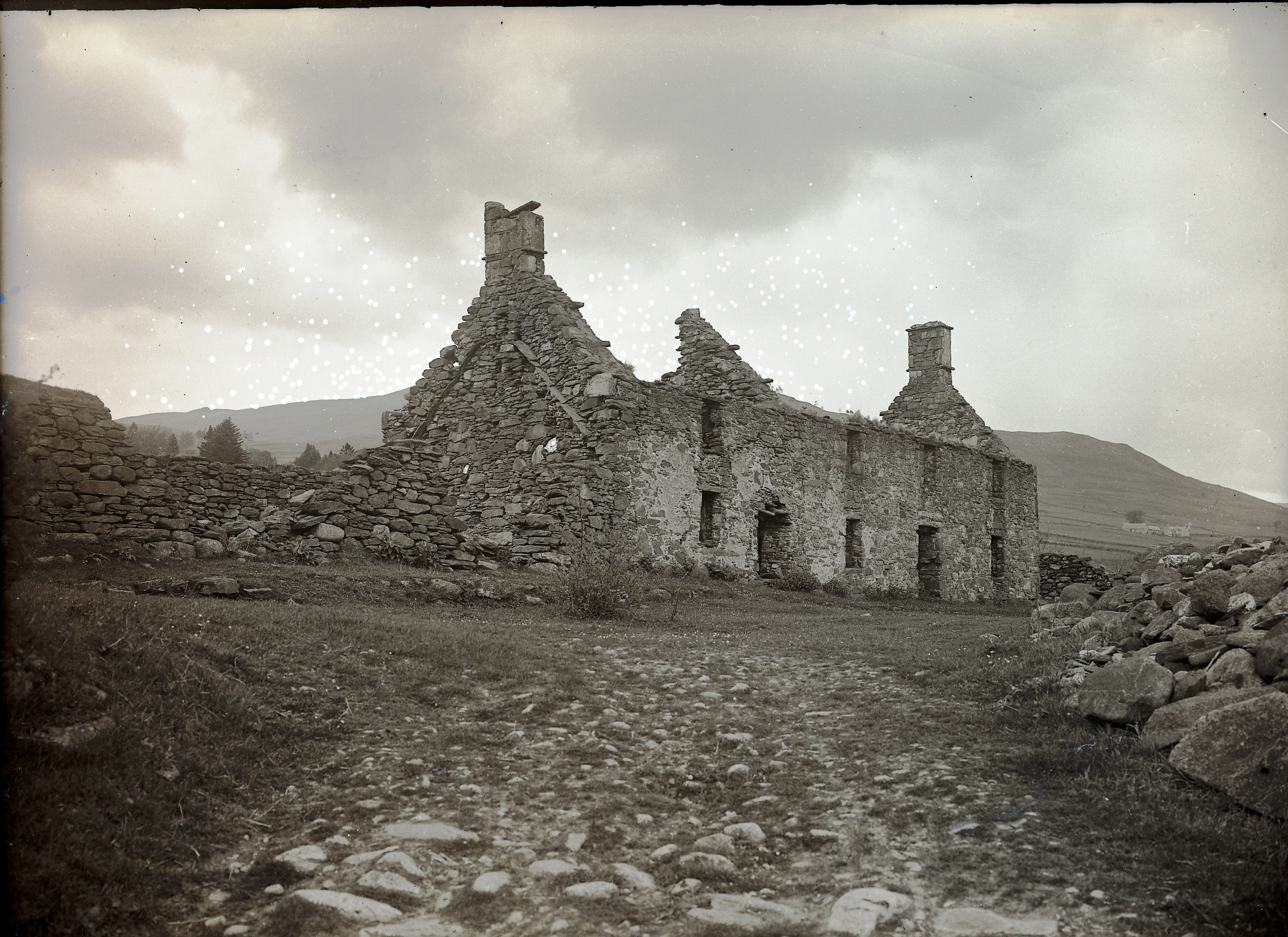 A ruined house where seer the Lady of Lawers is said to lived