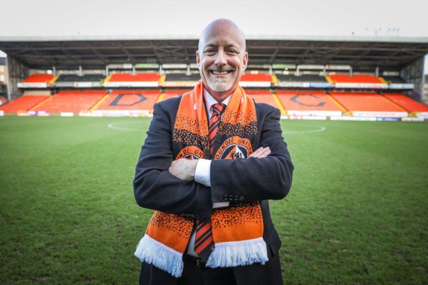Dundee United owner Mark Ogren took over in December 2018