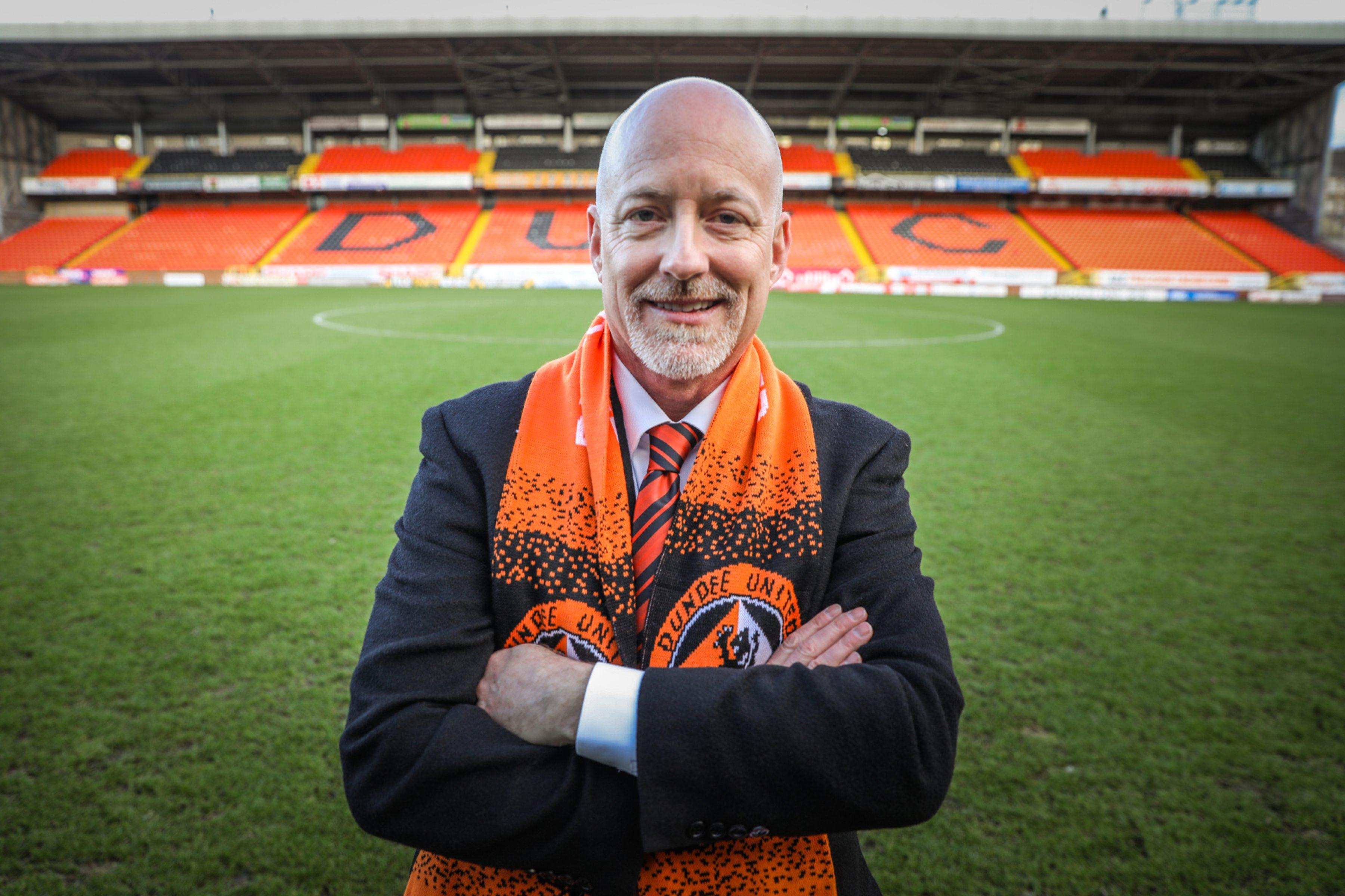 Dundee United owner and chairman Mark Ogren.