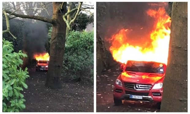 The one-year-old Mercedes model, bought from leading UK-wide company Kids Cars Direct, burned out in less than 10 minutes.