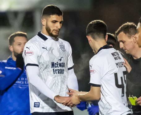 Ryan Inniss is subbed at Palmerston.