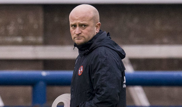 Dundee United assistant manager Gordon Forrest.