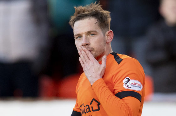 Dundee United's Peter Pawlett had a debut to remember.