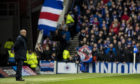 Kilmarnock manager Steve Clarke says he was subjected to sectarian abuse throughout the cup clash at Ibrox.