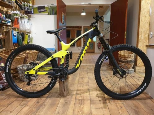 One of the stolen bikes.