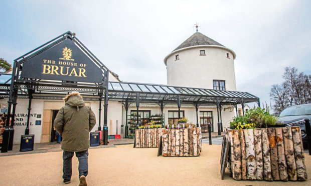 The House of Bruar is one of Perthshires top retailing destinations.