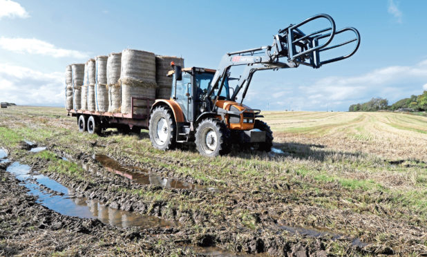 The poor weather made the 2017 harvest hard for farmers.