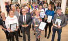 Some of the award winners at the event. Picture: Emma Alexander.