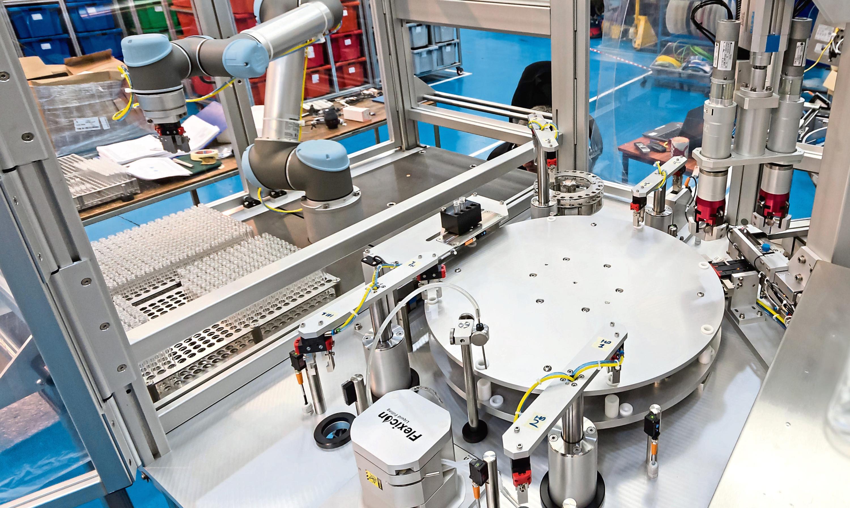 A SP Technology machine