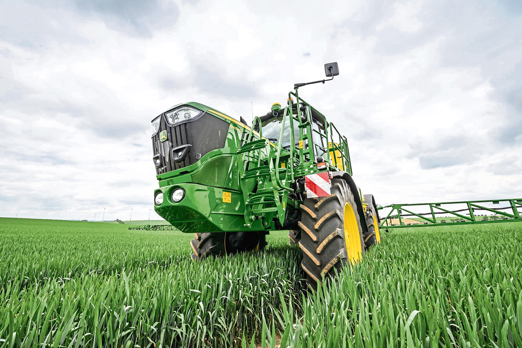 Analysis has shown that a rise in fertiliser spending has resulted in only a modest increase in yields.