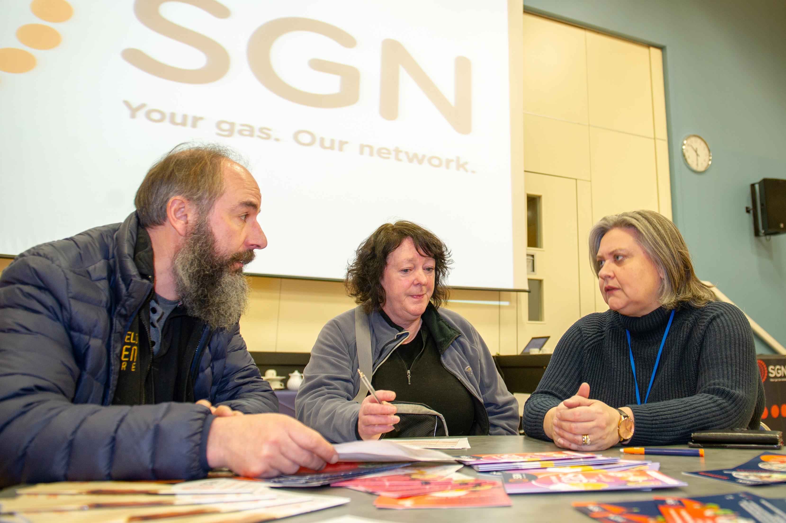 SGN consultation over Crieff road closure.