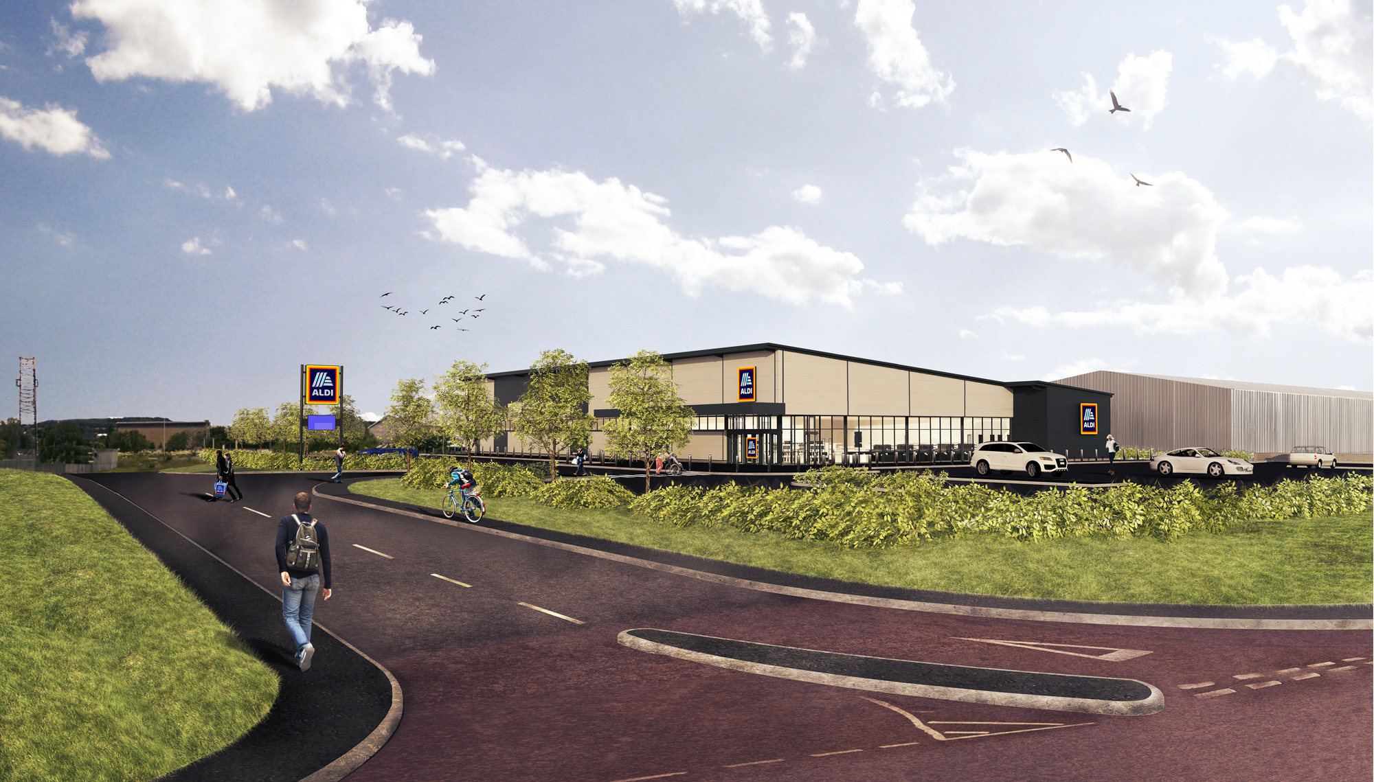 How the new Dundee East Aldi store could look