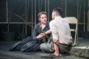 Amy Kennedy as Anne Deever, Daniel Cahil as Chris Keller in All My Sons. Photo: Ga-Ken Wan