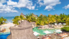 Gayle finds paradise at gorgeous Angsana Balaclava Mauritius.